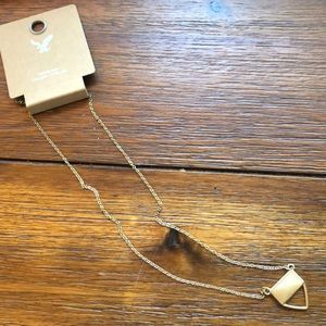 NWT stone necklace